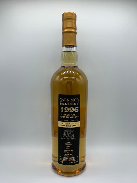 Bowmore 1996 Carn Mor Bequest #901279, 50.8%
