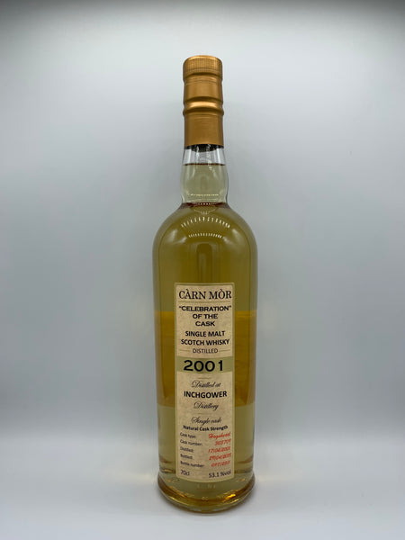 Inchgower 2001 Carn Mor Celebration of the Cask #303709, 53.1