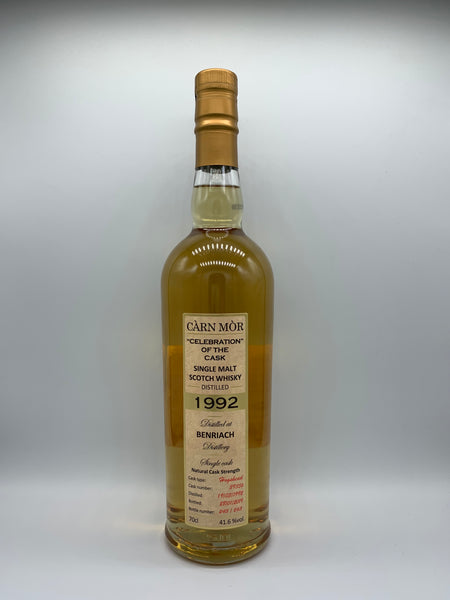 Benriach 1992 Carn Mor Celebration of the Cask #39356, 41.6%