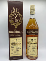 Benrinnes 1997 The Maltman 16 Years Old #2255, 46%