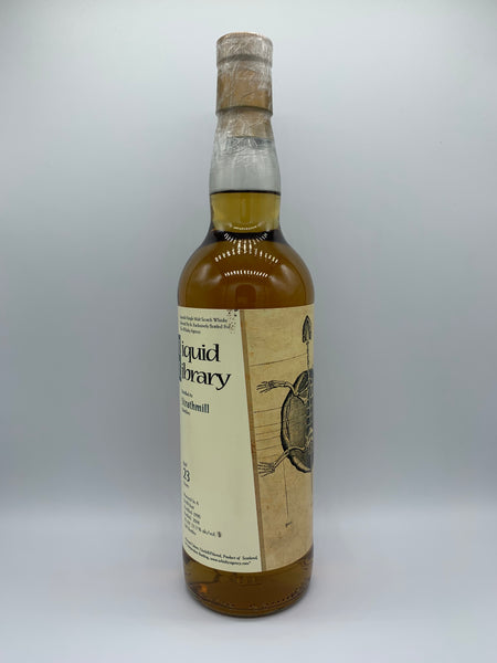 Strathmill 1990 Liquid Library 23 Years Old bottled for The Whisky Agency, 53.3%