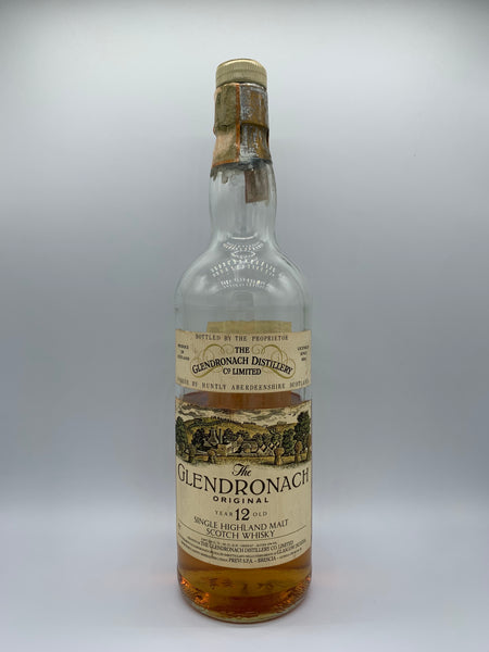 1 x 20ml sample of Glendronach 12 Years Old OB Previ Import bottled circa 80s, 43%