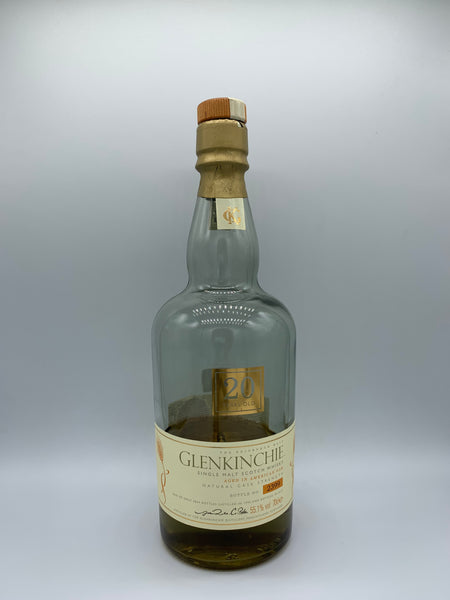 1 x 20ml sample of Glenkinchie 1990 OB Special Release 20 Years Old, 55.1%