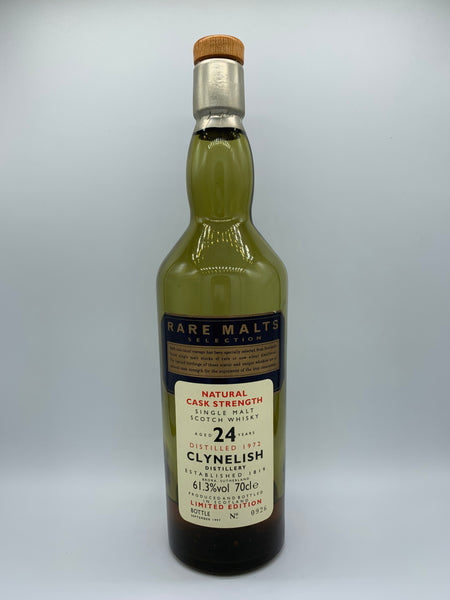 1 x 20ml sample of Clynelish 1972 OB Rare Malts 24 Years Old, 61.3%