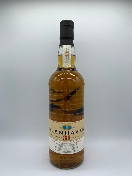 Tomatin 1977 Glenhaven 31 Years Old 46%