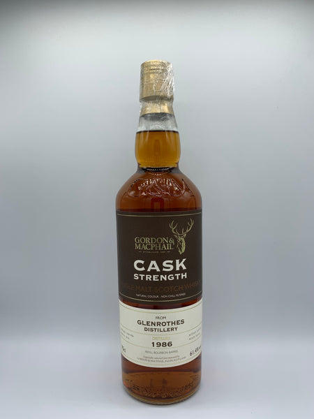 Glenrothes 1986 Gordon Macphail Cask Strength #20235 for The Whisky Show Old & Rare 2017, 61.4%
