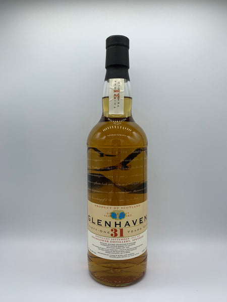 Inchgower 1977 Glenhaven 31 Years Old, 46%