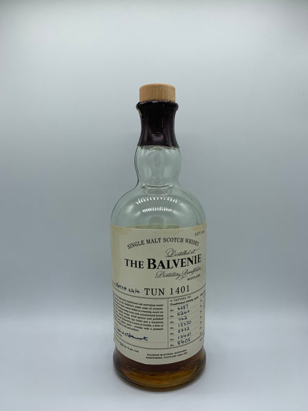 1 x 20ml sample of Balvenie Tun 1401 Batch 4 OB, 50.4%