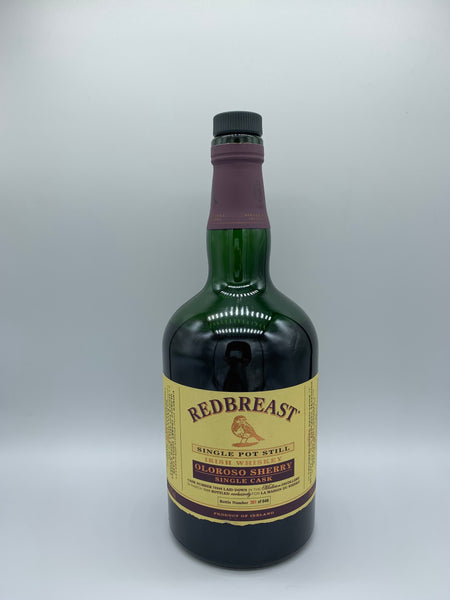 1 x 20ml sample of Redbreast 1998 OB Oloroso Sherry Single Cask bottled for LMDW #70946, 55.7%
