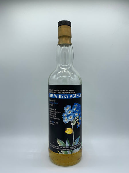 1 x 20ml sample of 1967 Tamnavulin The Whisky Agency 43%, 41%