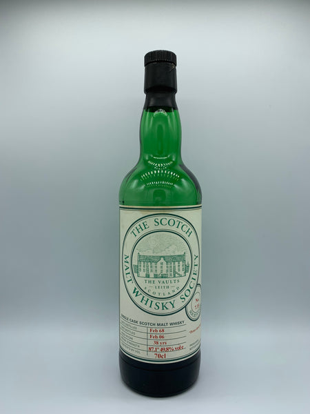 1 x 20ml sample of SMWS 7.35 (Longmorn) 1968 38 Years Old, 49.8%