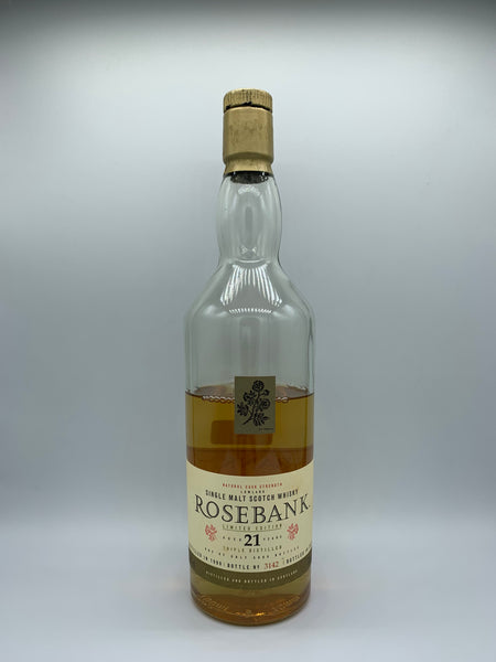 1 x 20ml sample of Rosebank 1990 OB 21 Years Old Special Release 2011, 53.8%