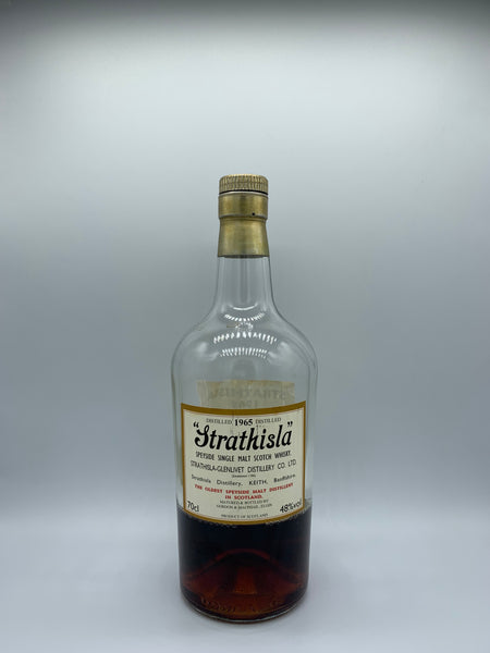 1 x 20ml sample of Strathisla 1965 OB bottled for Singapore LMDW #3473, 48%