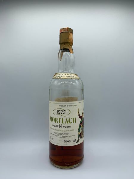 1 x 20ml sample of Mortlach 1973 Intertrade 14 Years Old, 54.6%