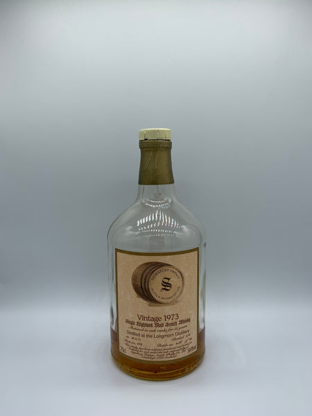 1 x 20ml sample of Longmorn 1973 Signatory Vintage 21 Years Old #9279, 54.9%