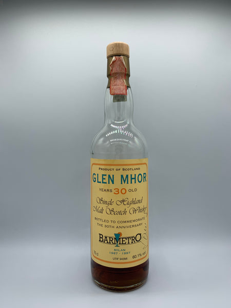1 x 20ml sample of Glen Mhor 1966 bottled for Bar Metro 30th Anniversary, 60.1%