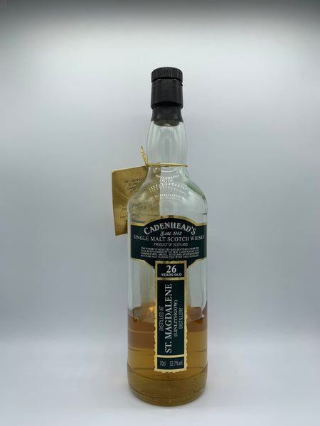 1 x 20ml sample of St Magdalene 1982 Cadenhead's 26 Years Old, 52.7%