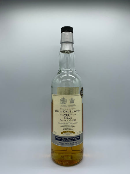 1 x 20ml sample of Ledaig 2005 Berry's Own Selection Berry Bros bottled for Germany, 61.1%