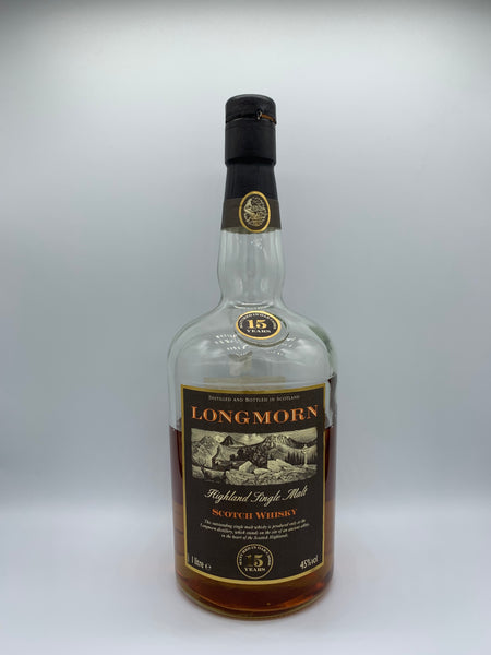 1 x 20ml sample of Longmorn 15 Years Old OB bottled circa 90s, 45%