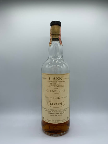 1 x 20ml sample of Glenburgie 1966 Gordon Macphail Cask Strength Series, 61.2%