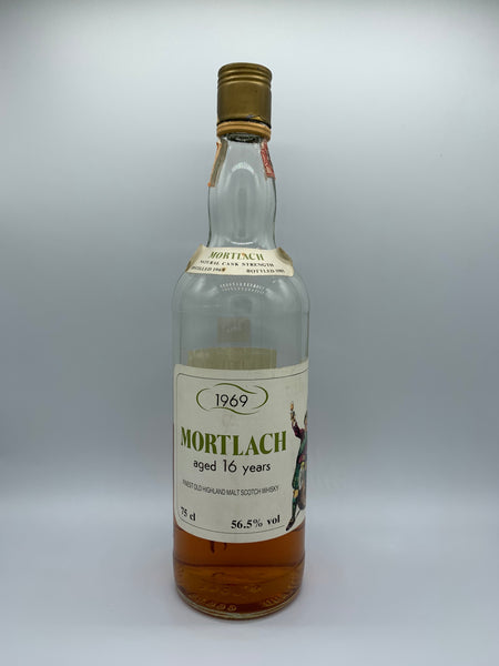 1 x 20ml sample of Mortlach 1969 Intertrade 16 Years Old, 56.5%