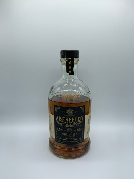 1 x 20ml sample of Aberfeldy 2002 OB #20019 Handfilled, 54.9%