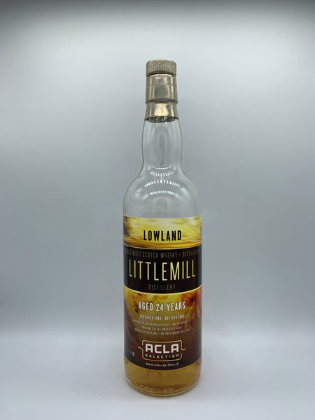 1 x 20ml sample of Littlemill 1989 Acla Selection 24 Years Old, 52.9%