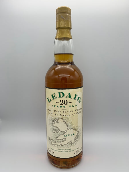 Ledaig 20 Years Old Douglas Murdoch bottled circa 1990s, 40%