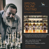 Special tasting with Michiel Wigman (at The Swan Song)