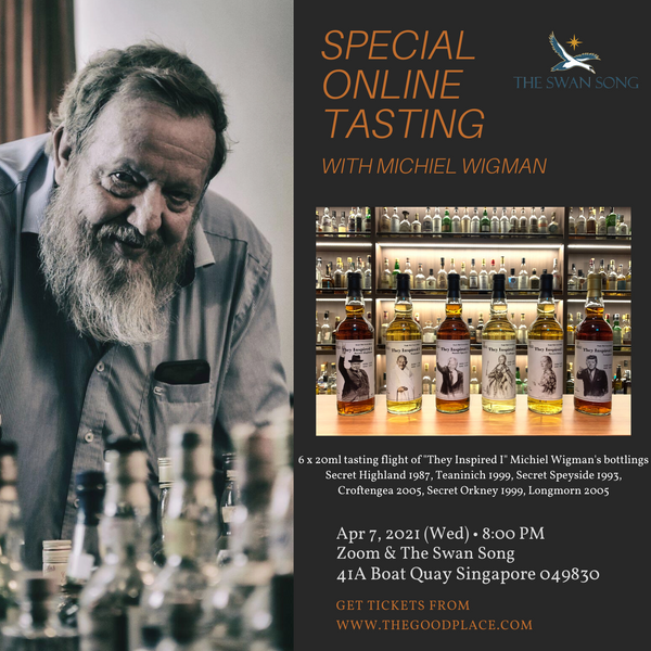 Special tasting with Michiel Wigman (Online Zoom)