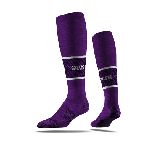 purple,knee high