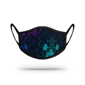 Geometric - Hexagons Athletic Mask N01849329ONE
