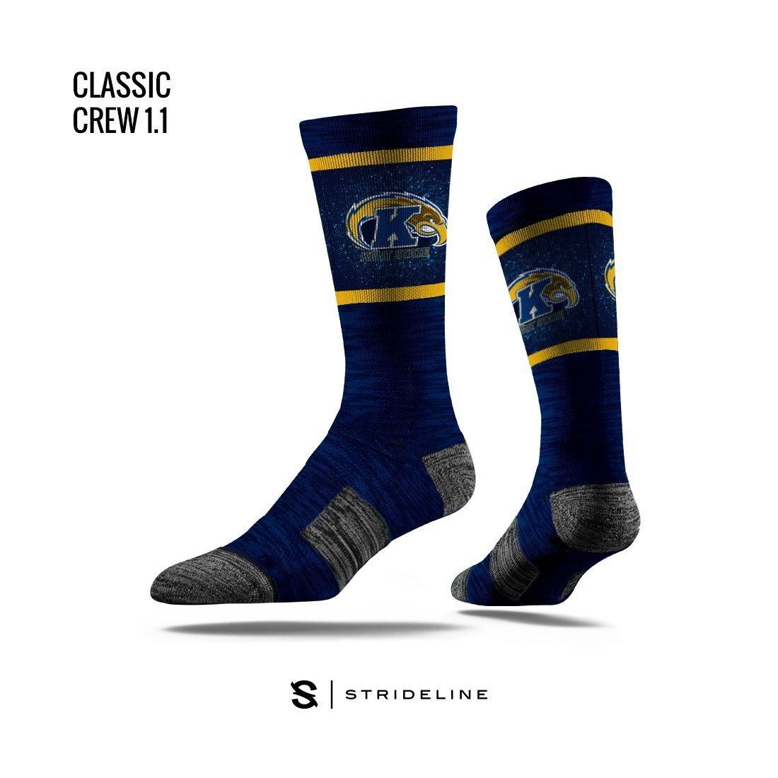 Kent State | Classic Crew | NCAA Primary Logo | N00221694ML