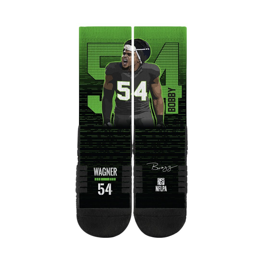 Bobby Wagner Black CFS N00438212ML