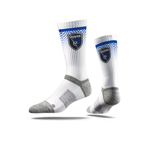 San Jose Earthquakes White Premium Crew N00942917ML