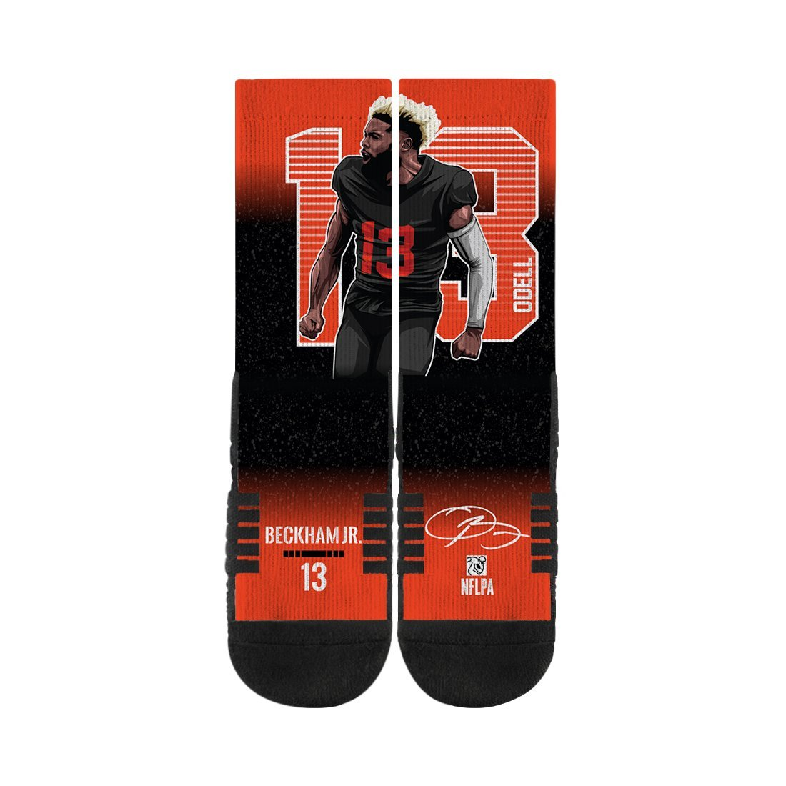 Odell Beckham Jr. Black Premium Full Sub Socks N01038891ML