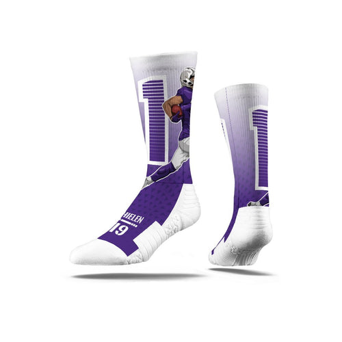 Adam Thielen Purple Premium Full Sub Socks N01052822ML