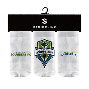 Seattle Sounders | Baby Socks | MLS Primary Logo | N01143830B01
