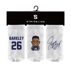 Saquon Barkley White Baby Socks N01551968B01