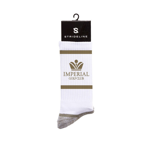 Imperial Golf Club, Inc. White Premium Crew N01570784ML