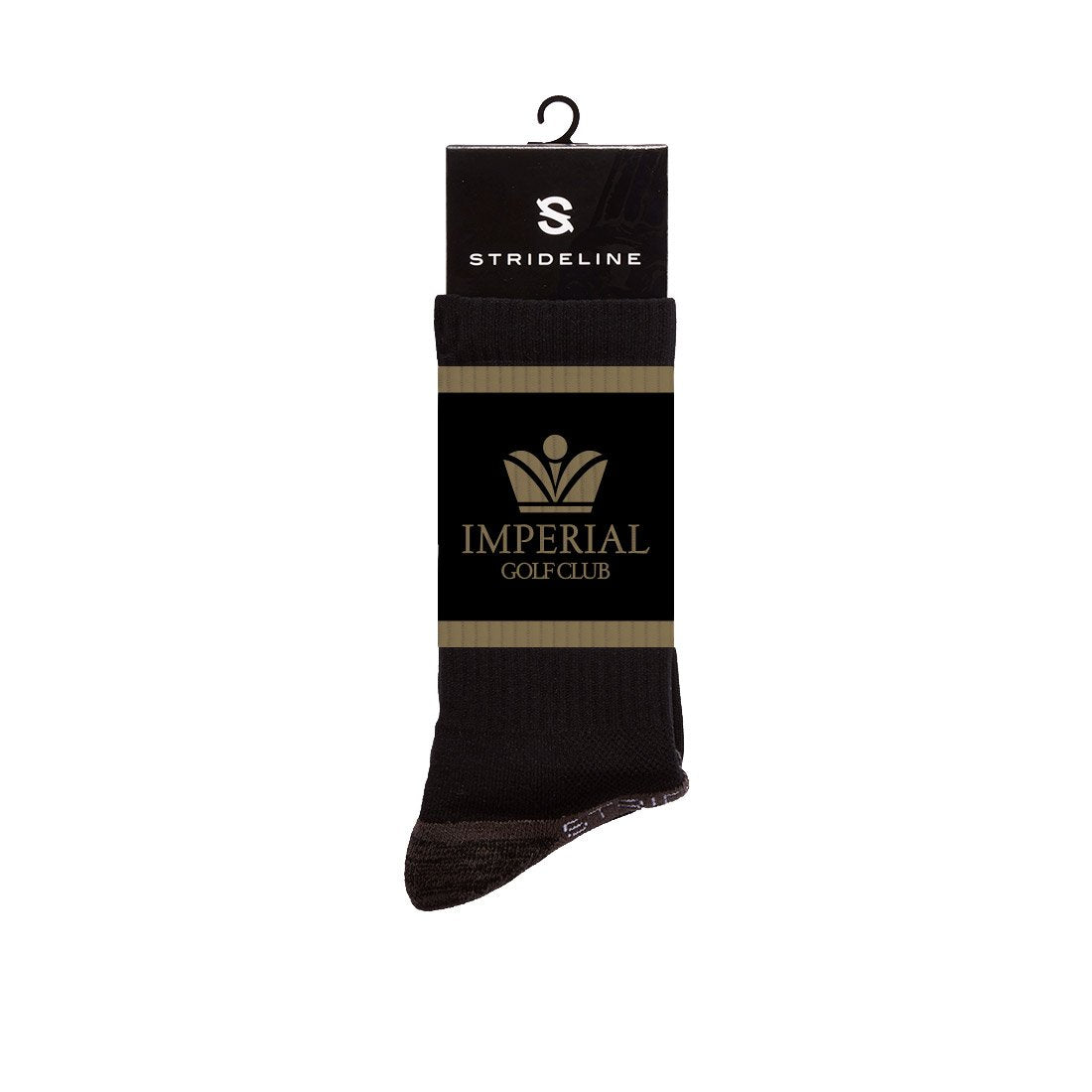 Imperial Golf Club, Inc. Black Premium Crew N01570788ML