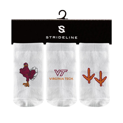 Virginia Tech | Baby Socks | NCAA Fashion Logo | N01575596B01