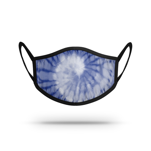 TieDye - White/Blue Athletic Mask N01849202ONE