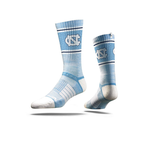"North Carolina ""Carolina Blue"" Crew Socks N017852"