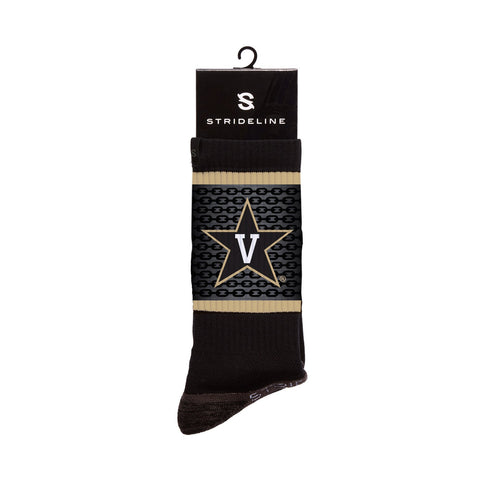 Vanderbilt Commodores Anchor Black Crew Socks C135380