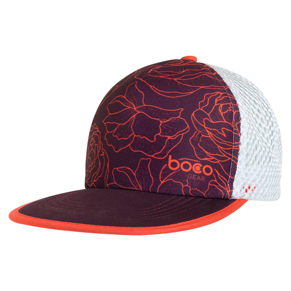 WOMEN'S TRAIL TRUCKER - FLORAL