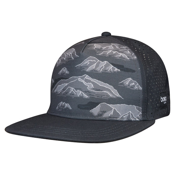 RUNNING TRUCKER - FLAT BILL - MOUNTAINS