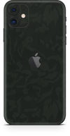 Apple iPhone 11 green camo SKIN and WRAP. skinz
