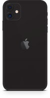 Apple iPhone 11 matte black wrap-skin. SKINZ Edmonton