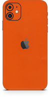 Apple iPhone 11 true orange wrap-skin. SKINZ Edmonton